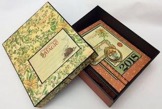 Oblong Album Box and Album My Creative Spirit