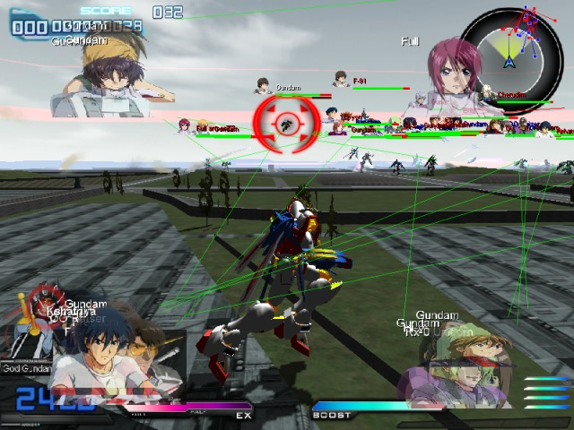 UKWXP Gundam Extreme vs Full Boost PC Free Download Gameplay