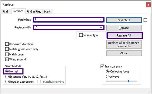 تحويل ملف CSV إلى سكريبت SQL