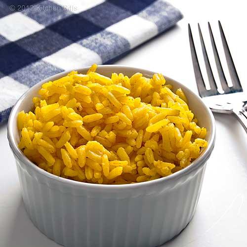 Aromatic Indian Yellow Rice