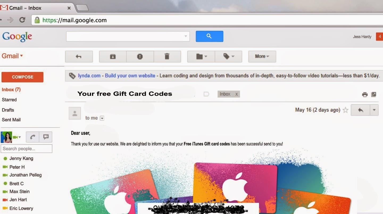 Free iTunes Codes no Surveys
