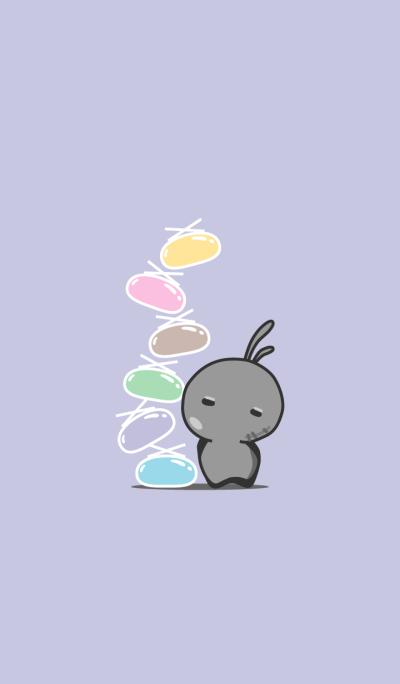 rabbit staring-88