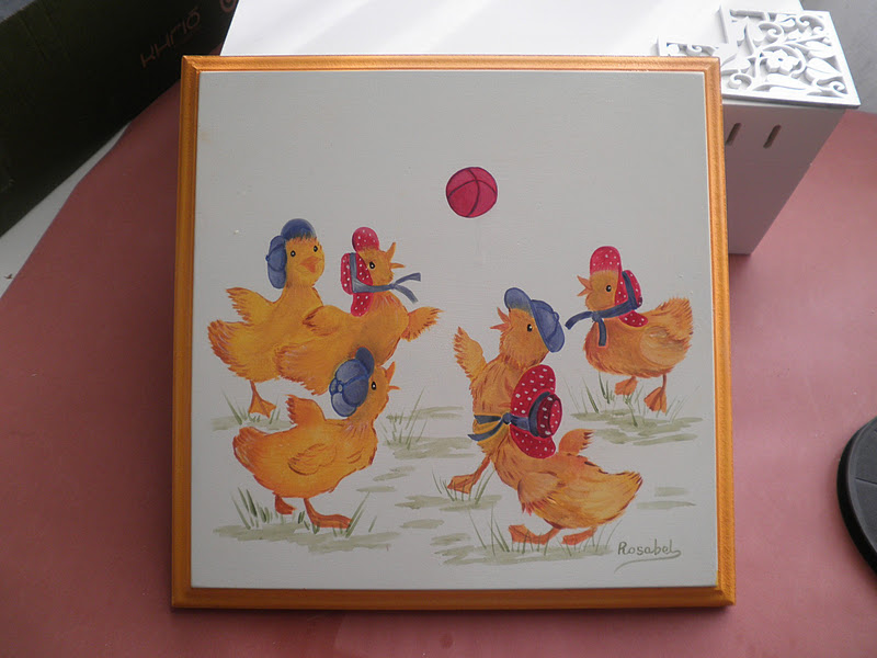 Rosabel manualidades cuadros infantiles - Rosabel manualidades ...