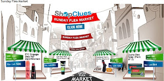 Shopclues Sunday Flea Market:  Santoor Hand Wash and Refill Pack Combo for Rs.52 | Axe Deo Spray – 150ml for Rs.73 | Reebok Men's Socks (Pack of 2) for Rs.52 & More