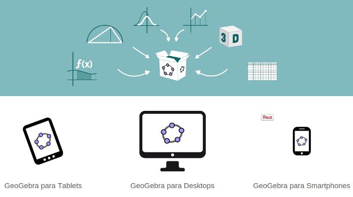 GeoGebra 5 Web, Touch, 3D e novo site