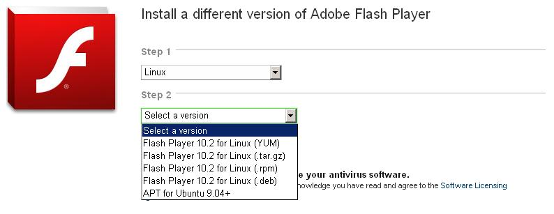 TÉLÉCHARGER ADOBE FLASH PLAYER VERSION 10.2.0