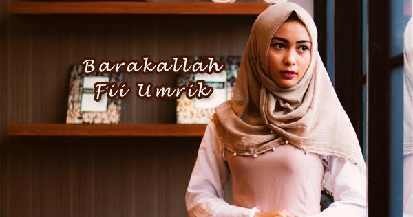 Ucapan Selamat Ulang Tahun Islami Barakallah Fii Umrik