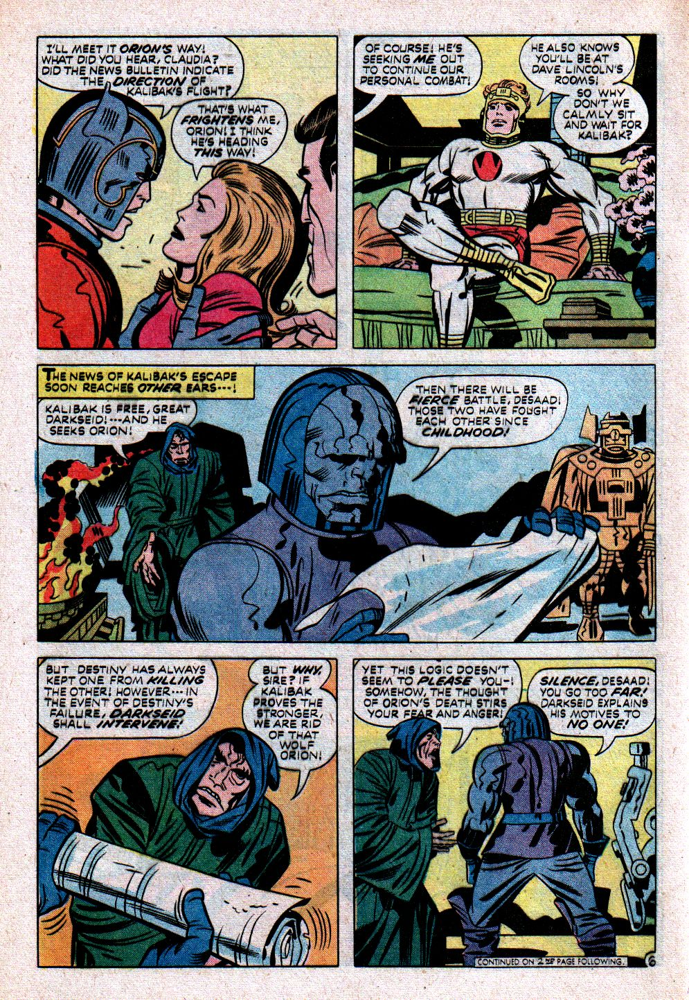 The New Gods (1971) issue 11 - Page 8