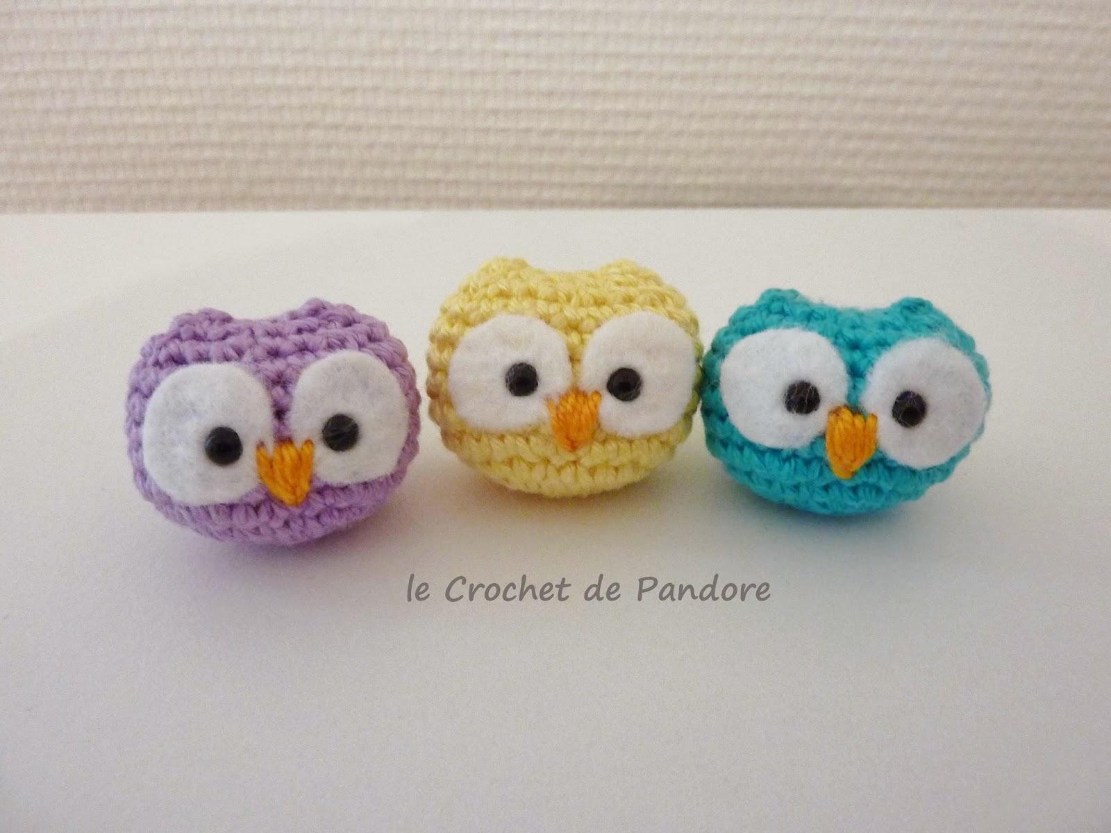 Le Crochet De Pandore Mini Hibou