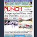 NAIJA NEWSPAPERS: TODAY'S THE PUNCH NEWSPAPER HEADLINES [12 OCTOBER, 2017].