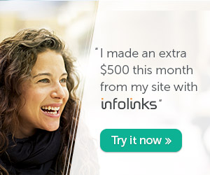 earn extra income with infolinks - join us now!