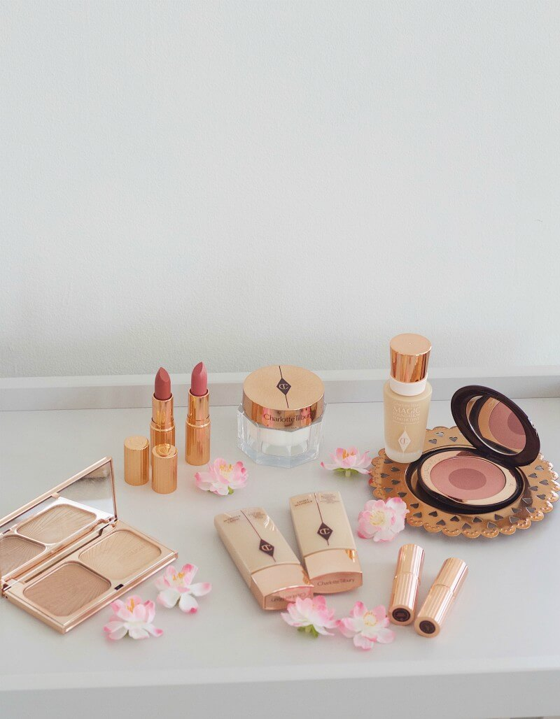 Charlotte Tilbury summer makeup look