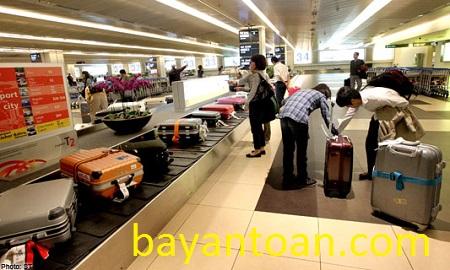 Giá cước hành lý ký gửi cụ thể của từng hãng hàng không