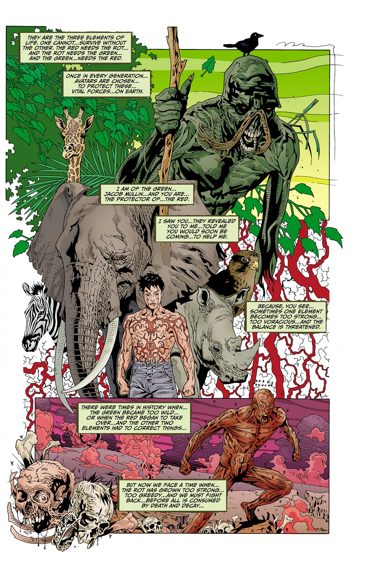 Read online Animal Man (2011) comic -  Issue #Animal Man (2011) _Annual 1 - 23
