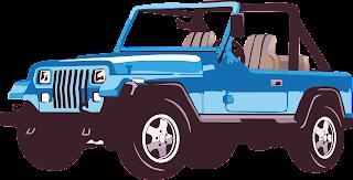 mobil jeep vektor