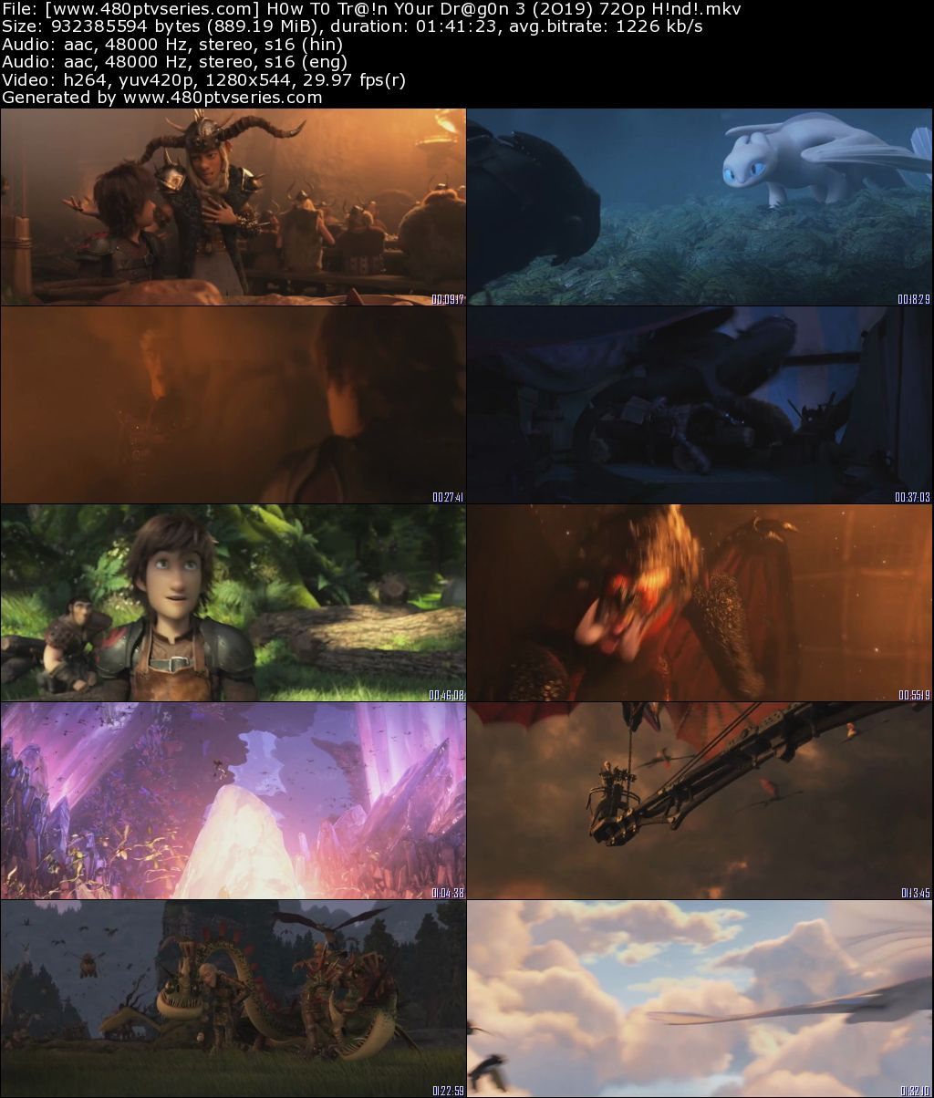 Download How to Train Your Dragon 3 The Hidden World (2019) 850MB Full Hindi Dual Audio Movie Download 720p HDRip Free Watch Online Full Movie Download Worldfree 9xmovies