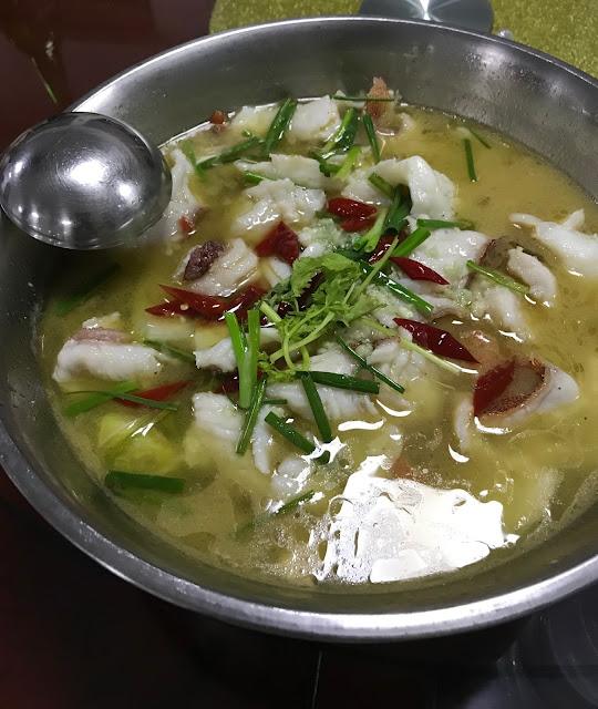 Little Si Chuan Xiao Sichuan, Mauritius, fish soup