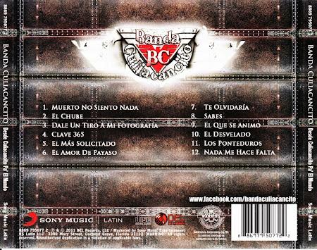 Banda Culiacancito - De Culiacancito Pal Mundo (2011) (Album / Disco Oficial)