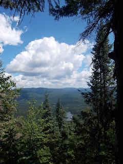 Paysage, parc du mont Tremblant