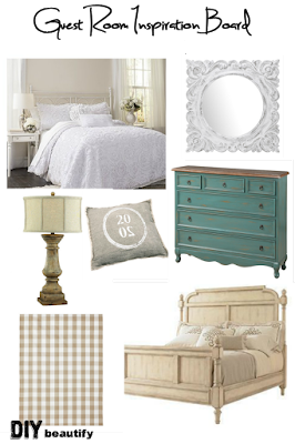 See my plans for transforming an empty room into a Guest Retreat in 6 weeks!   DIY beautify