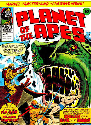 Marvel UK, Planet of the Apes #74