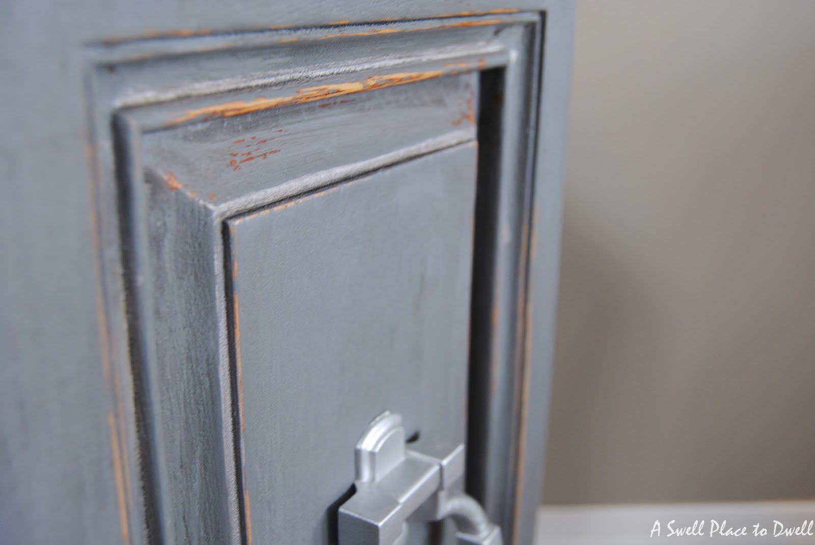 DIY Chalk Paint Hexagon End Tables
