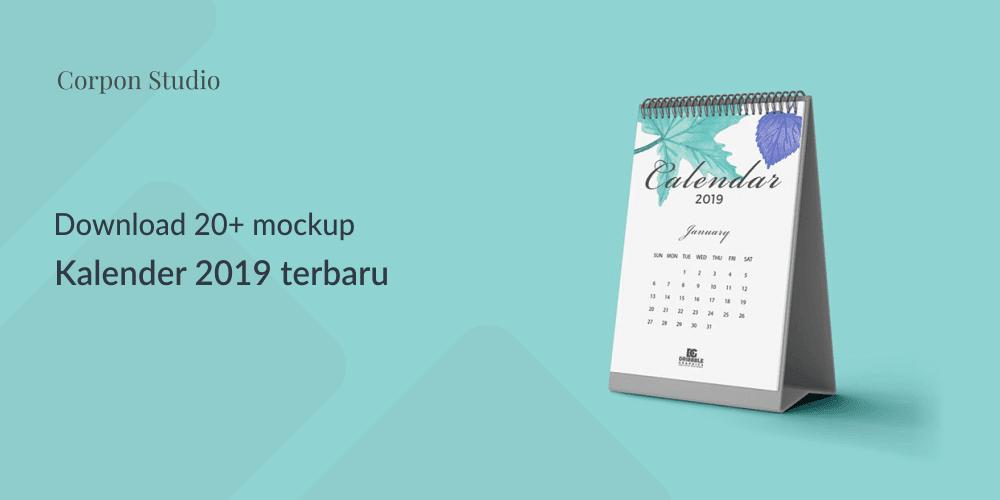 Download 20+ Mockup PSD Kalender terbaru 2018 Gratis