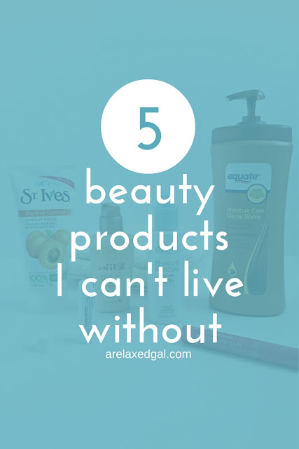 Ever gal has them, even this low maintenance gal. See what five beauty products made my must-have list. | arelaxedgal.com
