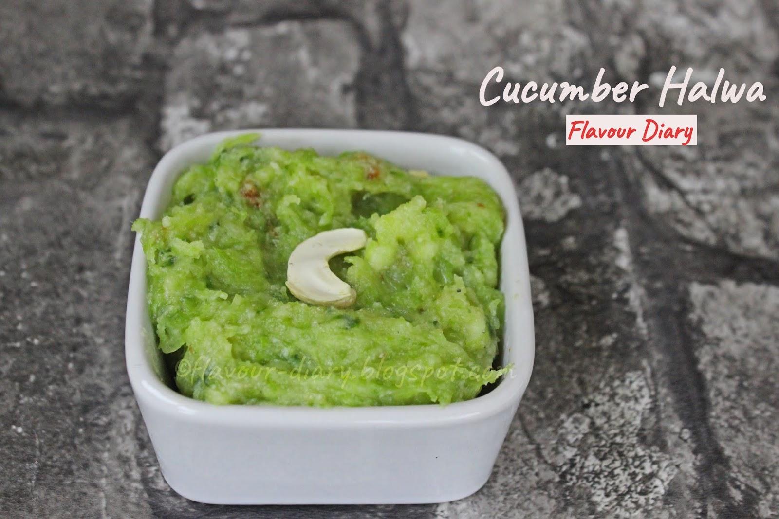 Cucumber Kheera Halwa Recipe