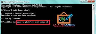 Tutorial Cara Install Cordova Di Windows 7