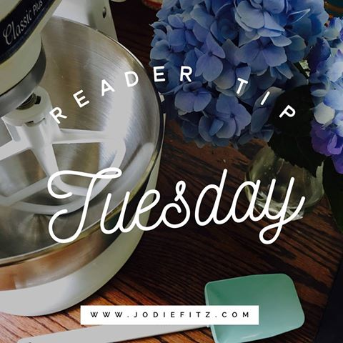 Reader Tip Tuesday