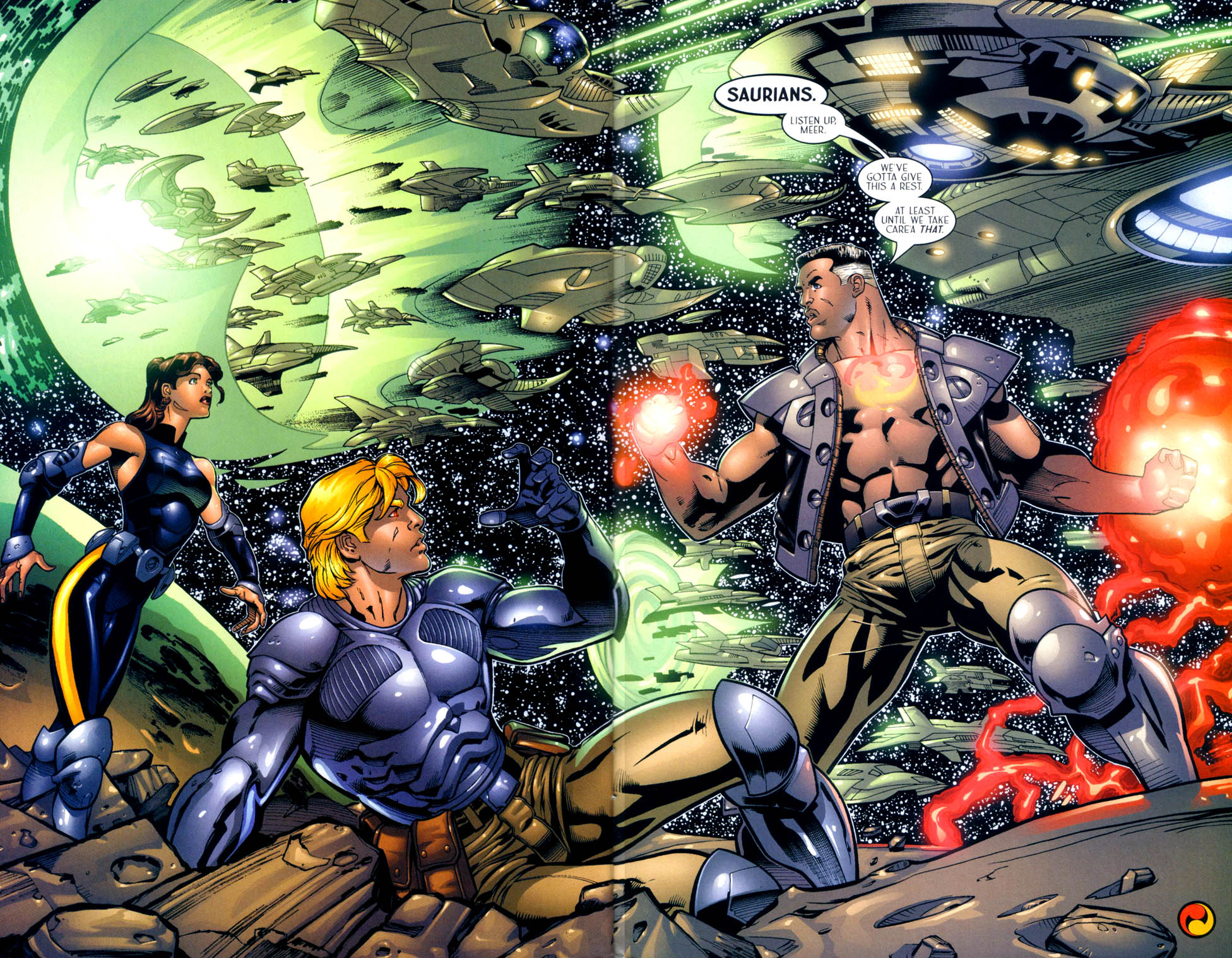 Read online Sigil (2000) comic -  Issue #10 - 22