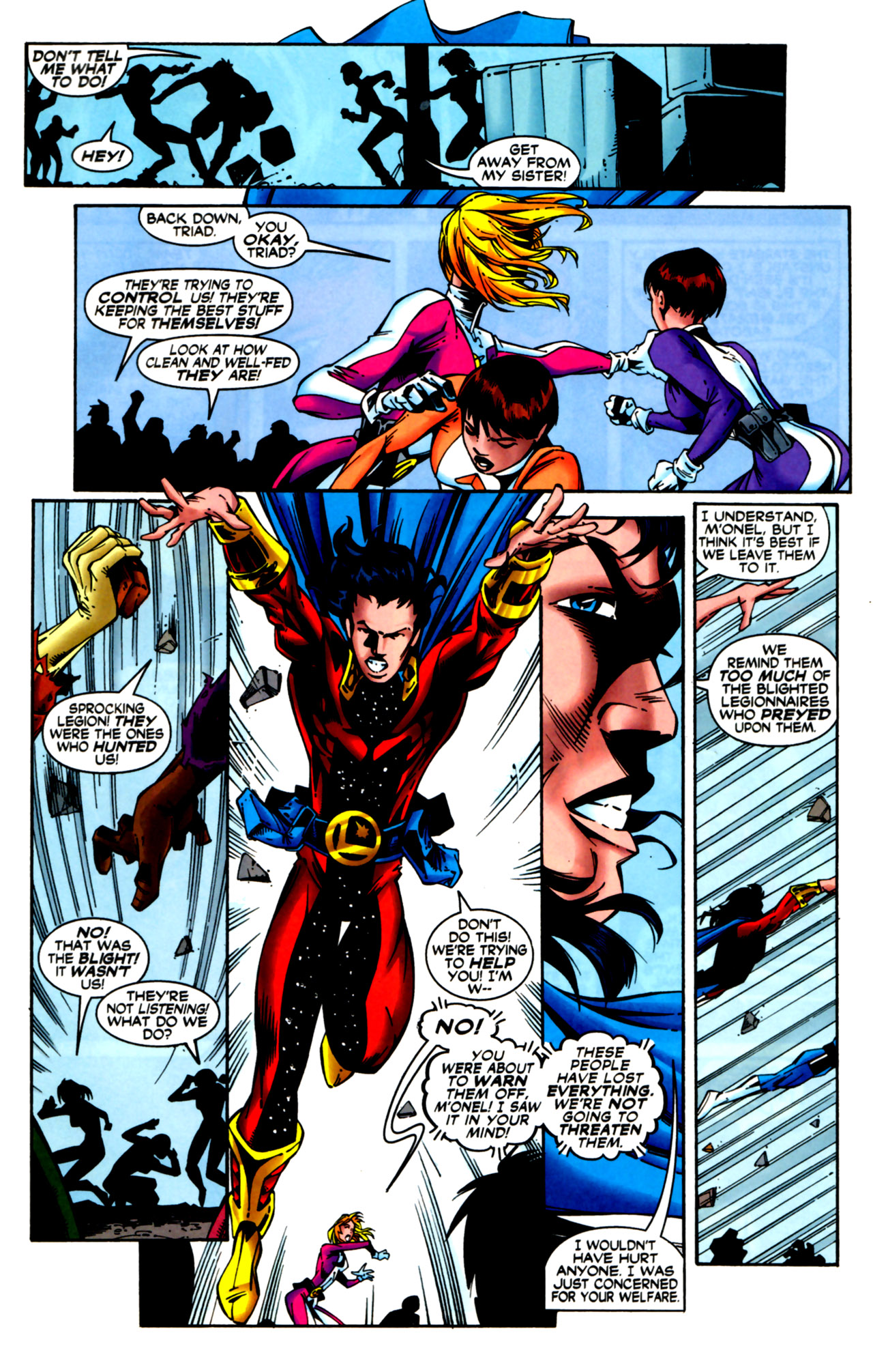 Legion of Super-Heroes (1989) 124 Page 17