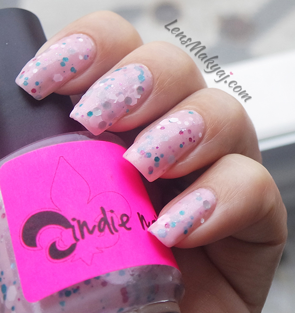Jindie Nails Strawberry Cupcake