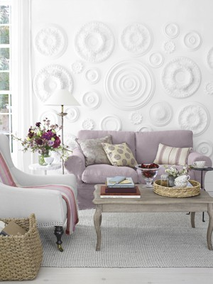 Style, Decor & More: Ceiling Medallion Wall Art and Decor!
