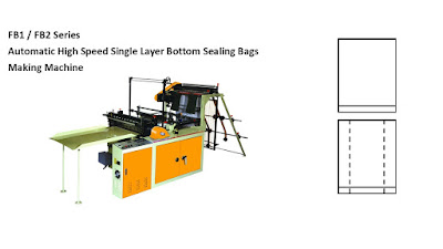 Single Layer Bottom Sealing Bags Making Machine