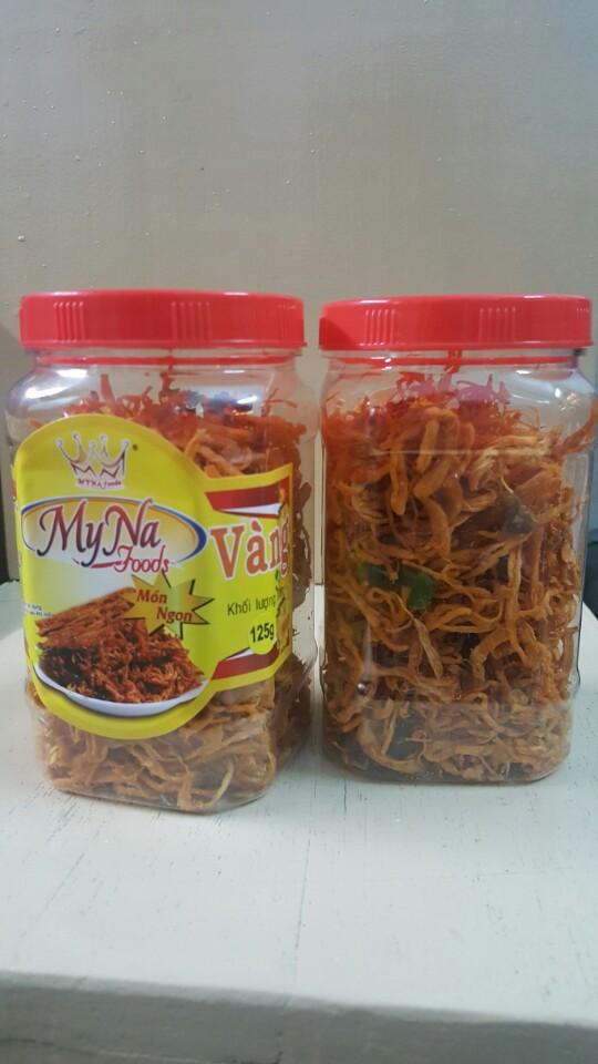45k - Thịt Gà sấy khô lá chanh 125gr/ hủ giá sỉ và lẻ rẻ nhất