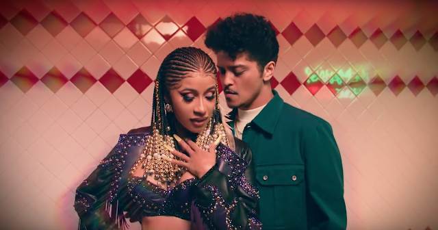 Watch Bruno Mars & Cardi B's sexy chemistry in 'Please Me' video