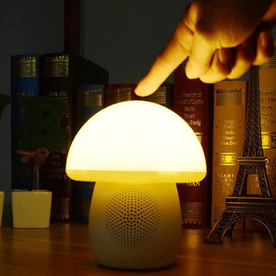 Mushroom Lamp Light Bluetooth Speaker