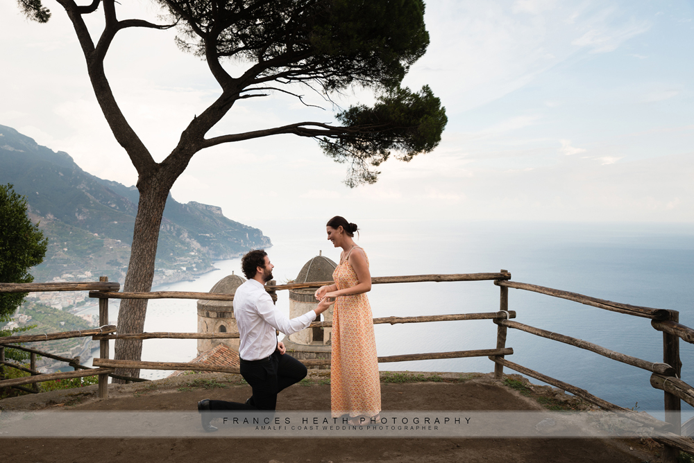 Proposal in Ravello