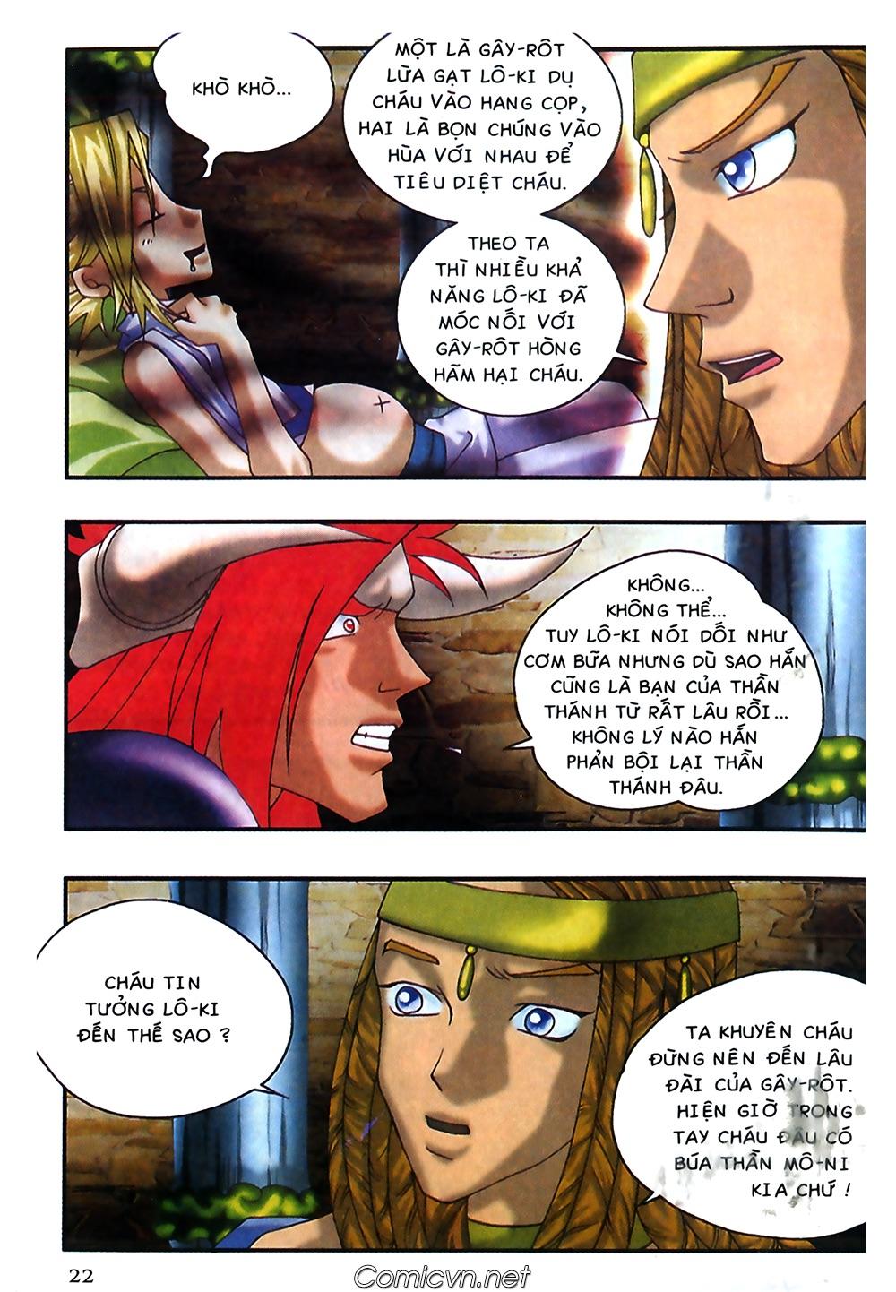 Thần thoại Bắc Âu - Chapter 40: Dì Grit tốt bụng - Pic 23