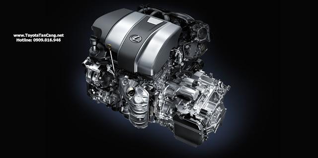 Bên dưới ca pô, Lexus RX 350 sử dụng động cơ V6 3.5 lít 295 mã lực, kết hợp với hộp số tự động 8 cấp.