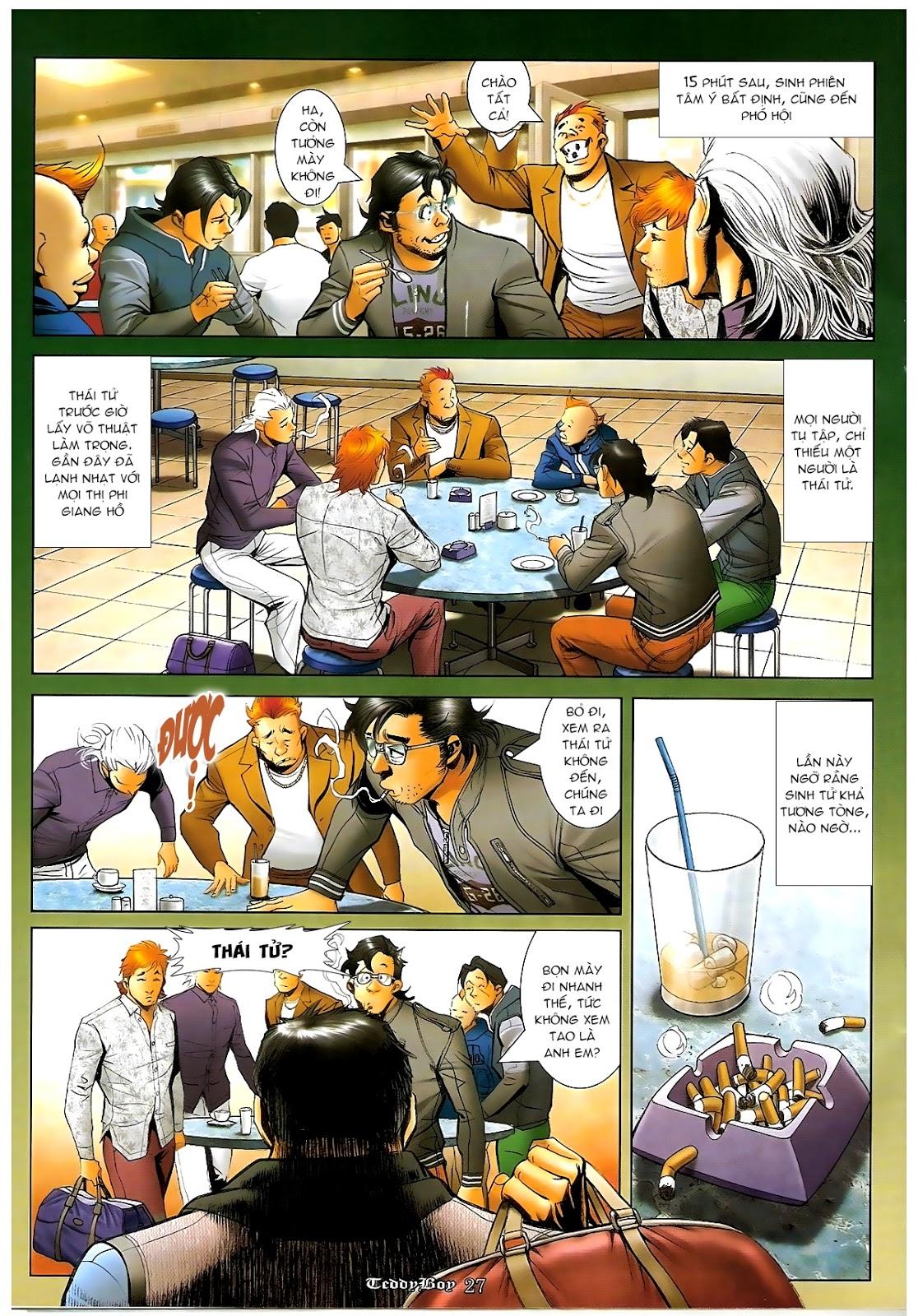 Người Trong Giang Hồ - Chapter 1216: Tráng Sĩ - Pic 22