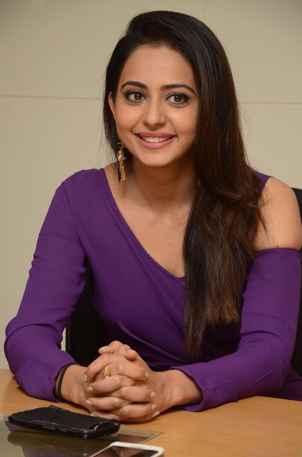 Rakul Preet Singh at Dhruva Movie Press Meet