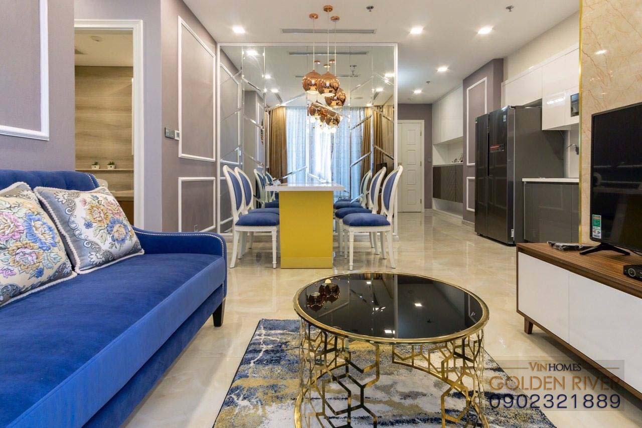 Vinhomes Golden River Aqua 1 cho thuê căn hộ 74m² - hình 4