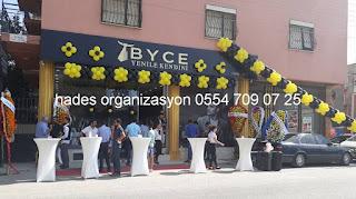 İzmir açılış orgainzasyonu