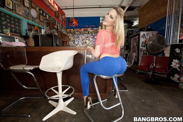 Big cock drilling blonde teen