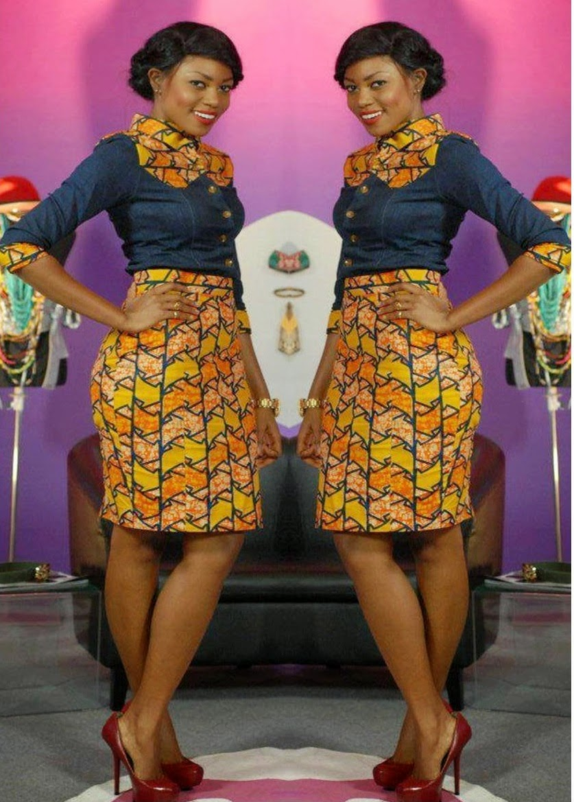 New Designs For Kitenge Skirt And Blouse Styles Women The Most Beautiful Kitenge Blouse Designs Fashenista Blouses Discover The Latest Best Selling Shop Women S Shirts High Quality Blouses