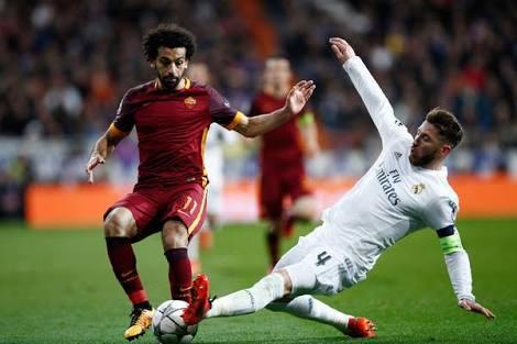 Za a caji Ramos Euro biliyan 1, saboda dukan Mohammed Salah da yayi