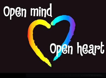 Minds are opened when heart are opened in hindi